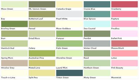 lowes paint color names lowes paint color chart house paint color chart chip sle swatch palette color charts