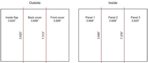 8 5x11 brochure template tri fold brochure layout theveliger