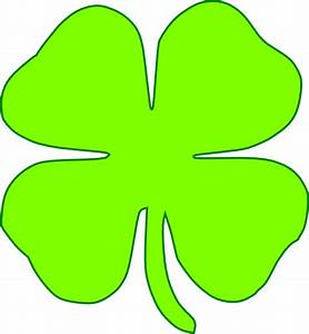 Shamrock Light Green Clip Art at Clker.com - vector clip ...