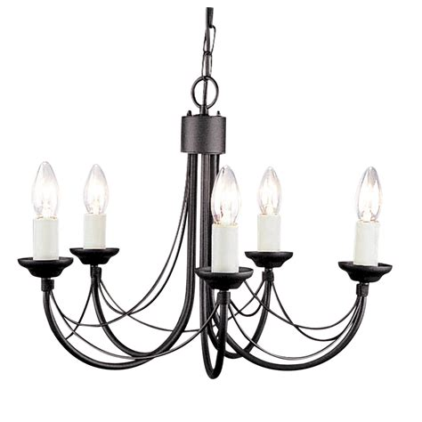 styled chandelier in 5 sizes