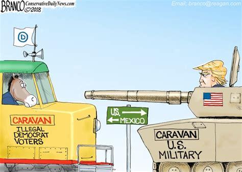 mexican standoff af branco cartoon conservative