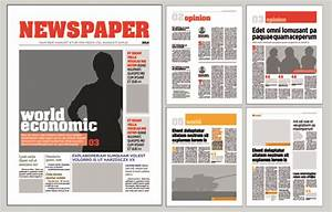 typesetting newspaper vector templates 02 vector With paper ad design templates