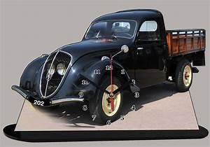 Peugeot Camionnette : peugeot 202 camionnette pick up en miniature auto horloge ~ Gottalentnigeria.com Avis de Voitures