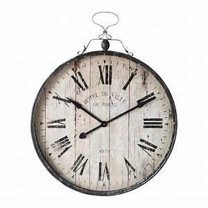 Horloge En Metal : horloge en m tal victoria maisons du monde ~ Teatrodelosmanantiales.com Idées de Décoration