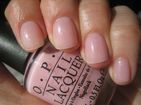 Opi 'makes Men Blush' A Nice Pale Pink