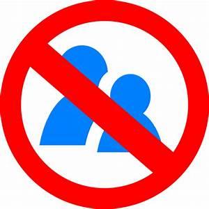 No Talking Symbol Clip Art at Clker.com - vector clip art ...
