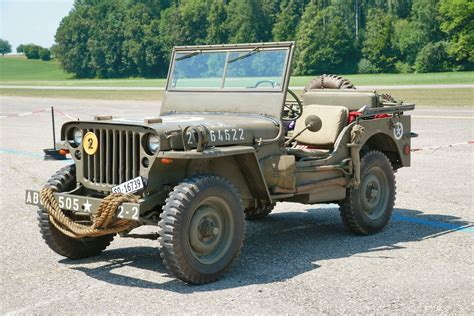 Willys Mb Jeep Army Vehicles Increased Patency Times