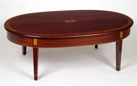 mahogany oval coffee table oval mahogany coffee table coffee table design ideas 7324