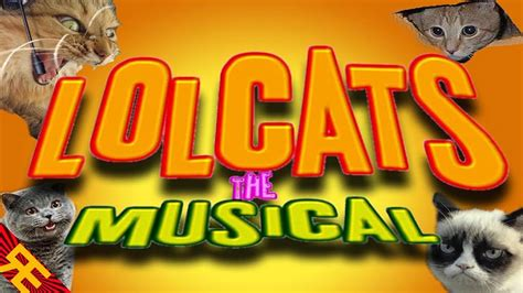 lolcats  musical  lolcat parody song youtube
