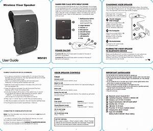 Ws101 User Manual