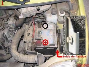 Changer Batterie Scenic 3 : changer la batterie de d marrage sur renault twingo ii tuto ~ Gottalentnigeria.com Avis de Voitures
