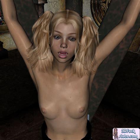 Blonde 3d Toon Teen Girl In Bondage Cartoon Sex Tube