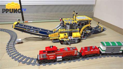 lego technic 42055 lego technic 42055 b model ev3 mod cargo by 뿡대디