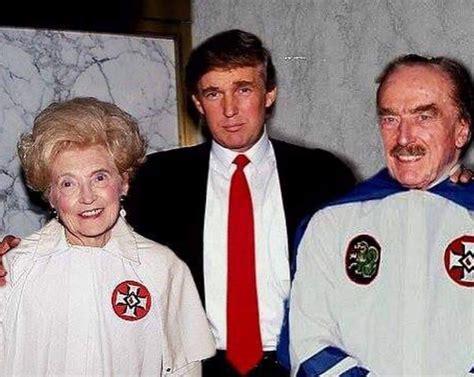trump parents donald klan klux ku kkk fred father mary anne robes mother macleod president trumps elizabeth wearing clothing christ