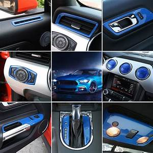 For Left Hand Drive Only! For Ford Mustang 2015 2016 2017 Interior Accessories Whole Kit ...