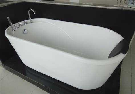 57 Inch Freestanding Tub by Greengoods Bath Factory Acrylic Freestanding Tub With
