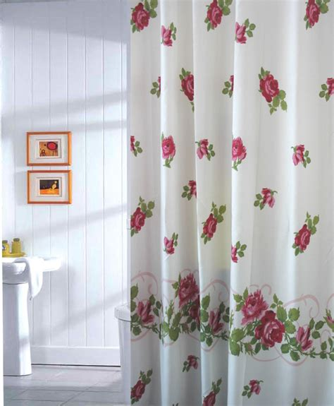 beautiful flowers fabric shower curtain t2964 bingo e commerce