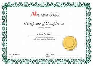 Free Certificate Template Free Certificate Of Completion Calligraphy Award Certificates V M