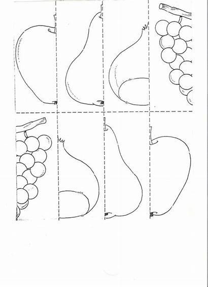 Fruit Craft Puzzle Worksheet Easy Worksheets Crafts