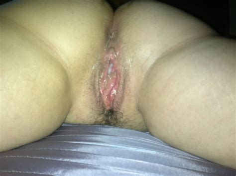 Here Is My Wifes Pussy And Ass Dripping With Cum Creampie