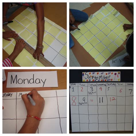 Rethinking Calendar  Reggio, Kindergarten And Math