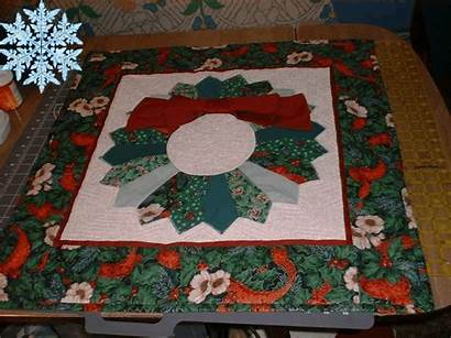 Dresden Plate Wall Hanging Quilt Quilting Christmas