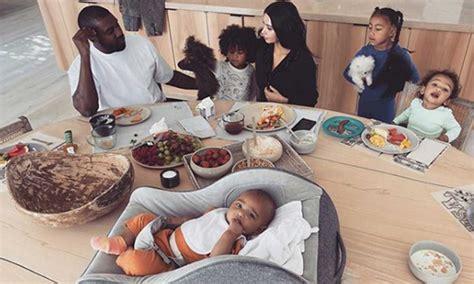 Kim Kardashian shares rare photo with Kanye West and all ...