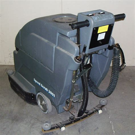 Nobles Floor Scrubber 2001 by Nobles Ss2001 Speed Scrub 2001 Floor Cleaner Scrubber Ebay