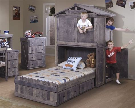 10 Appealing Fort Beds For Kids Pic Ideas