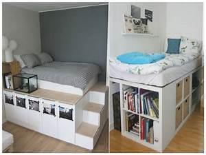 Ikea Kallax Ideen : bett selber bauen kallax sch ne ikea regal kallax ideen bett ~ Eleganceandgraceweddings.com Haus und Dekorationen