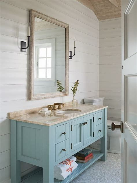 Cottage Bathroom Design by Turquoise Bathroom Vanity Cottage Bathroom Dearborn