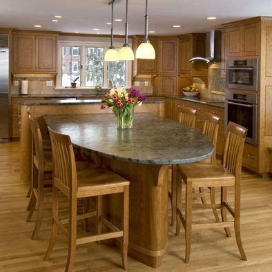 table island kitchen 13 best images about kitchen islands with attached tables 2646