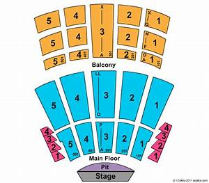 Maroon 5 Nashville Seating Chart Arie Crown Theater Seating Chart Arie Crown Theater