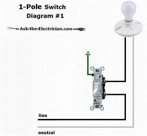 Wiring A Single Pole Light Switch  U2013 Economical Home Lighting