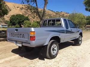 Toyota Extra Cab Pickup Truck 4x4 Sr5 22re 5 Speed Low