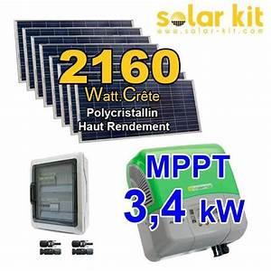 Kit Panneau Solaire Autoconsommation : panneau solaire photovolta que et kit solaire ~ Premium-room.com Idées de Décoration