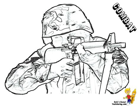 Gusto Coloring Pages To Print Army Army Free Kids