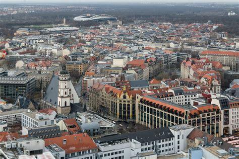 File:Innenstadt Leipzig mit Thomaskirche von Panorama