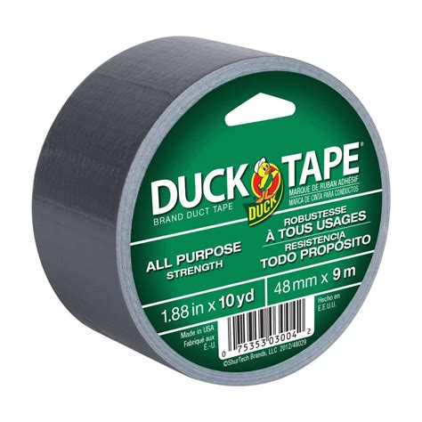 All Purpose Duct Tape Silver, 188 In X 10 Yd  Duck Brand