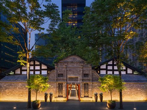 temple house hotel  chengdu  architect