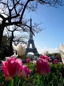 Paris Eiffel Tower Spring