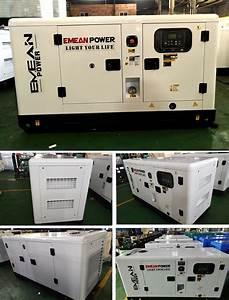 25kva 20kw Super Silent Diesel Generator Set Factory