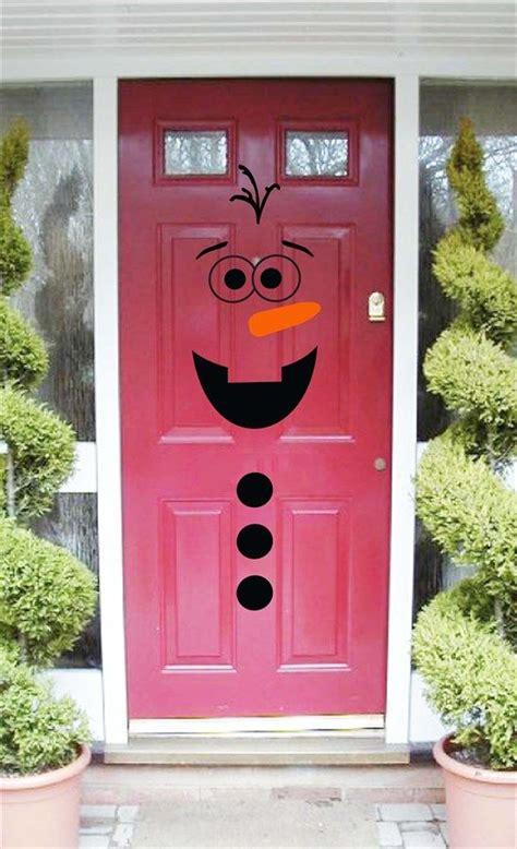 snowman door decor  images snowman door door