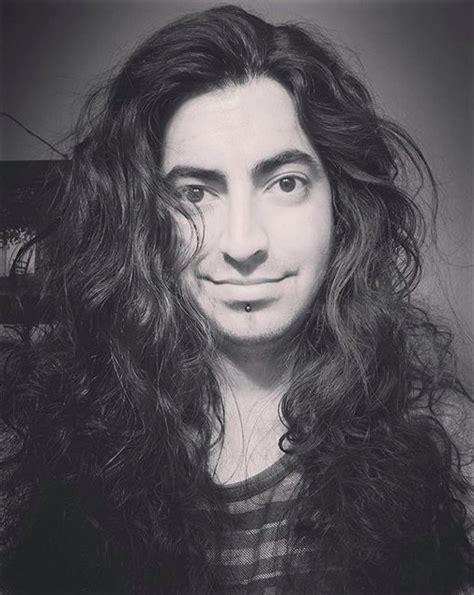 shoulder length hair style mens hair blog