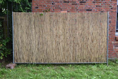 Sichtschutz Garten Schilfrohrmatte by Sichtschutz Schilfmatten Sichtschutz Conexionlasallista