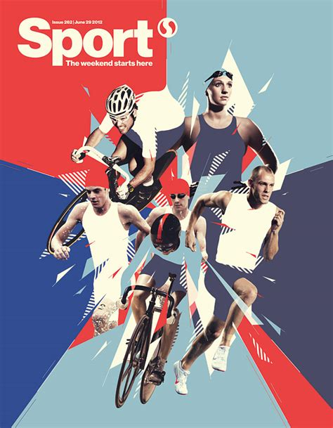 sports graphic design inspiring work by mike harrison visual