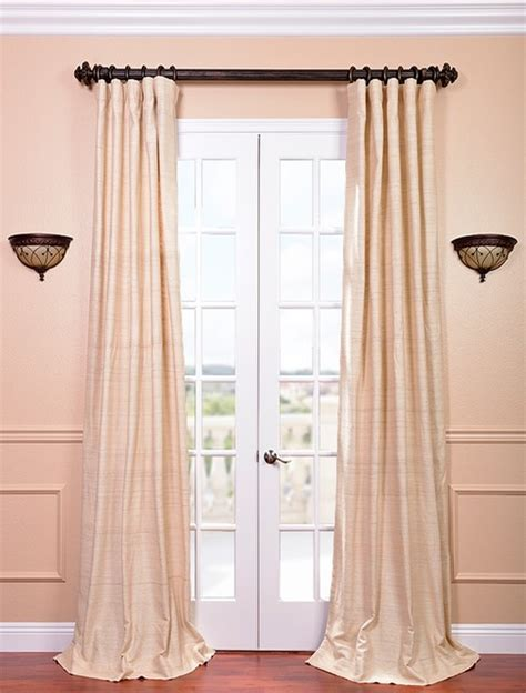 cancun sand silk curtain contemporary curtains