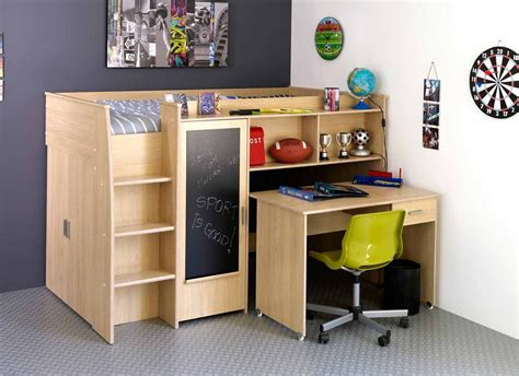 bunk bed desk combo bed desk combo for small children s bedroom