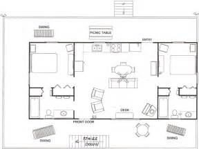 cabin floorplan mountain view cabin floor plan