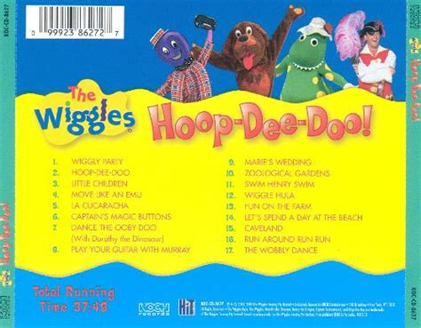 Rock The Boat Karaoke Youtube by Hoop Dee Doo It S A Wiggly Party The Wiggles Songs